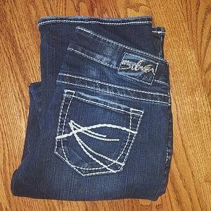Silver brand denim jeans size 28 x 33 Aiko